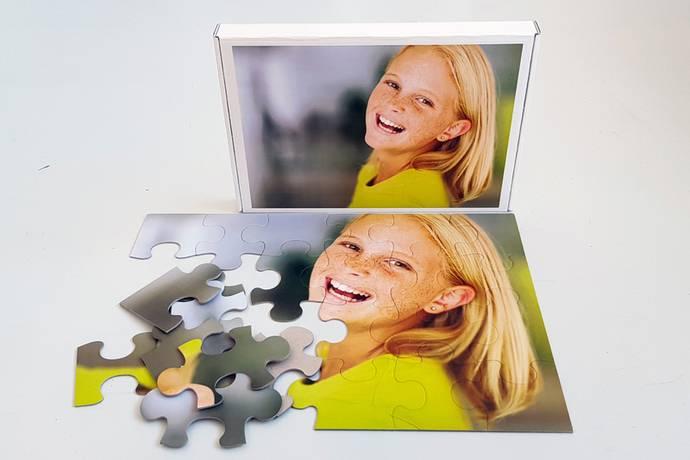 Foto puzzel 48 stukjes met doos