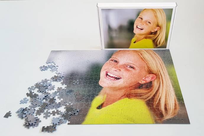 Foto puzzel 500 stukjes met doos