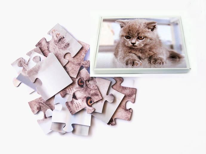 Fotopuzzel 30x42 cm 12 stukjes Bedrukte Doos