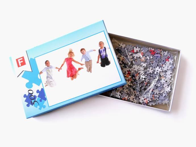 Fotopuzzel 32x48 cm met 500 stukjes in doos