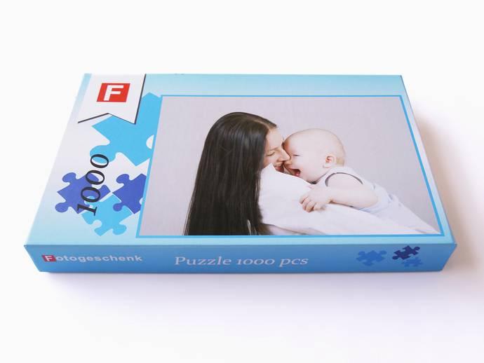 Puzzel 1000 stukjes 48x68 cm met doos